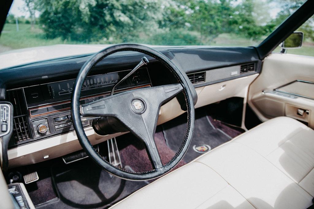 Cadillac Cabrio Cockpit