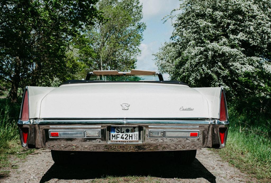 Cadillac Cabrio Heck