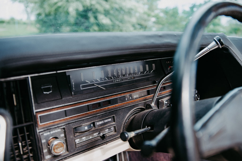 Cadillac Cabrio Tacho