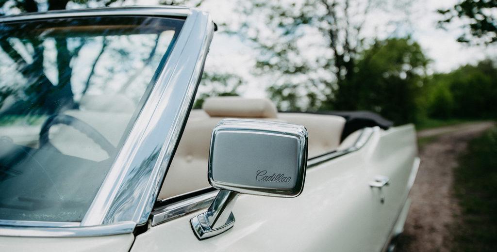Cadillac Cabrio offenes Dach