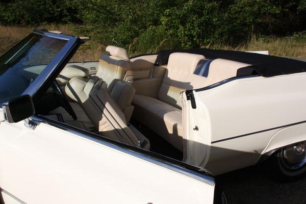 Cadillac Einstieg