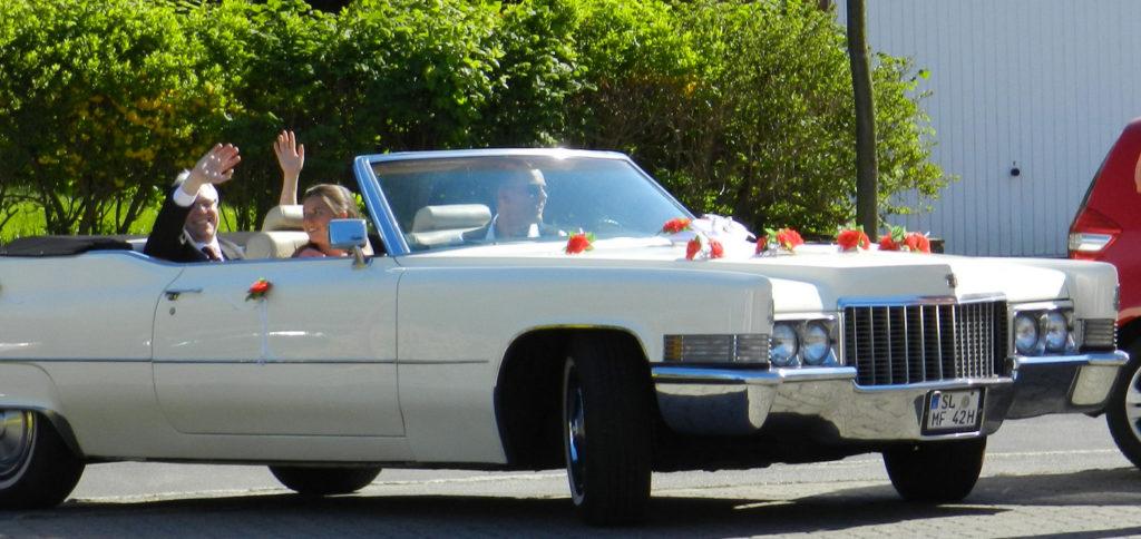 Cadillac mit Chauffeur